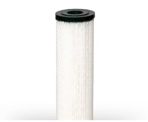 Pleated water filter