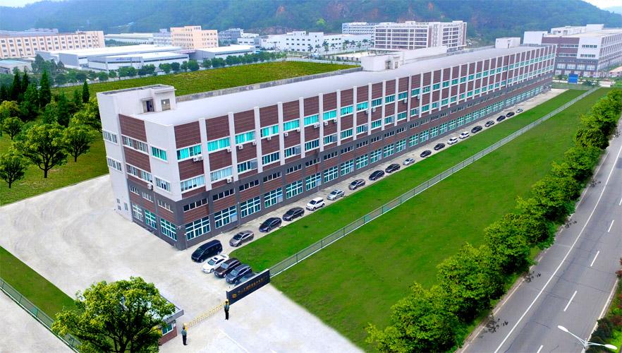 Exterior drawing of China facility