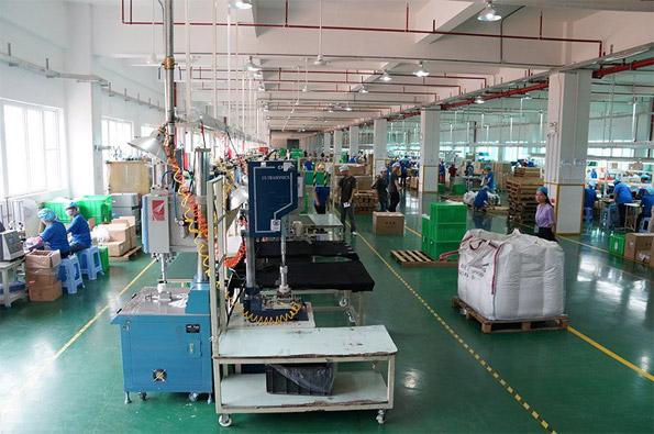 Inside china facility